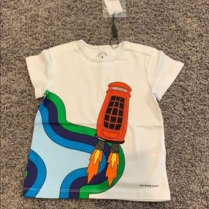 NWT BURBERRY PHONE BOOTH ROCKET TODDLER TEE 🚀🚀